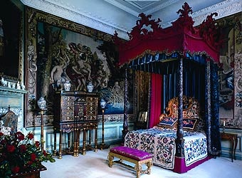 R&R - Burghley House - Blue Silk Bedroom