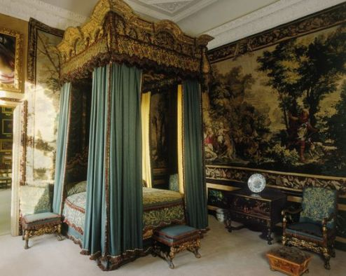 R&R - Burghley House - Queen Elizabeth's Bedroom