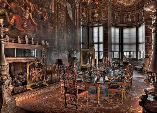 R&R - Burghley House - the Bow Room