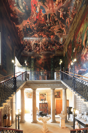 R&R - Burghley House -The Hell Staircase