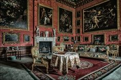 R&R - Burghley House - The Third George Room