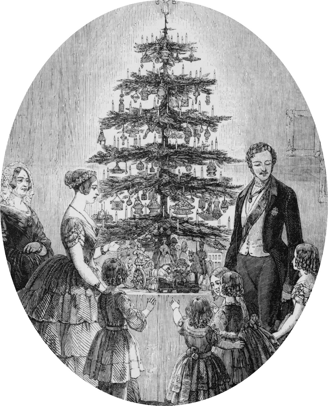 Christmas Decorations In Victorian England: BLAME THE VICTORIANS FOR CHRISTMAS TREES, CARDS AND