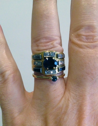 Lucinda Brant Interview -wedding-rings