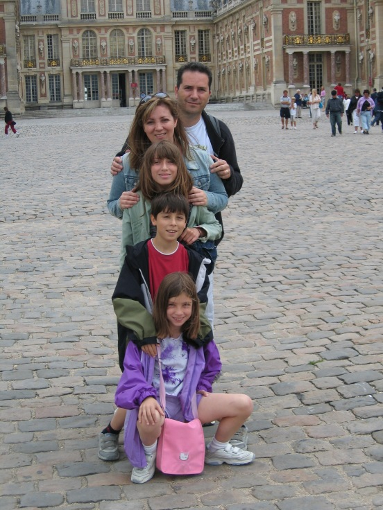 Lila Dipasqua interview - family at Versailles