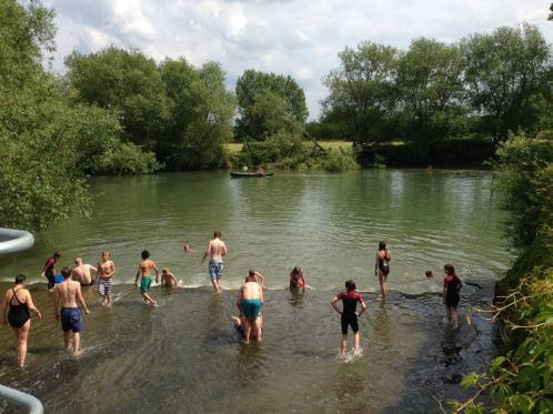 Jane Lark Interview - Buscot weir pool