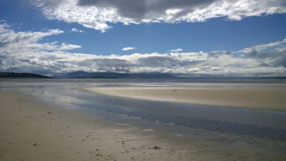 Marguerite Kaye Interview -Scalpsie Bay on the Isle of Bute, now