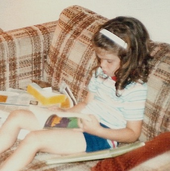 Theresa Romain Interview - Theresa reading_age 6