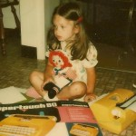 Christy English Interview - 4 year old withTypewriter