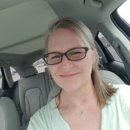 Katherine Bone Interview - glasses picture