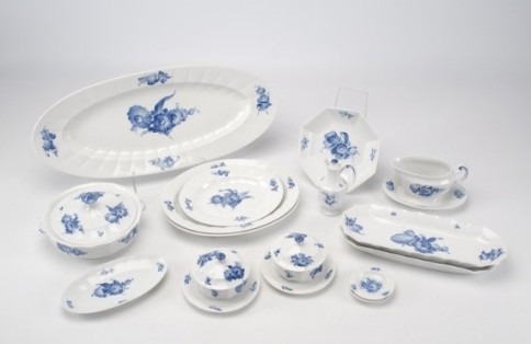 Sophie Barnes Interview - The Royal Copenhagen china set