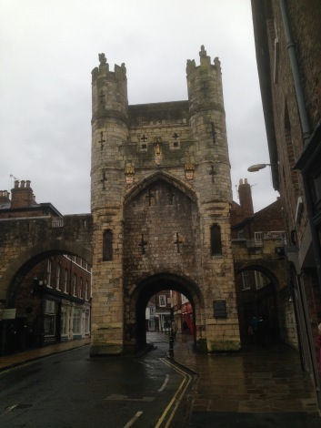 Elisabeth Hobbes Interview - Medieval walls of York where I grew up