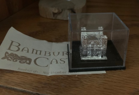 Sherry Ewing Interview - Miniature of Bamburgh Castle
